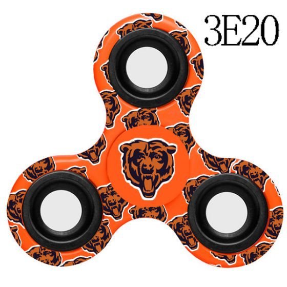 NFL Chicago Bears Logo Three-Way Fidget Spinner- 3E20
