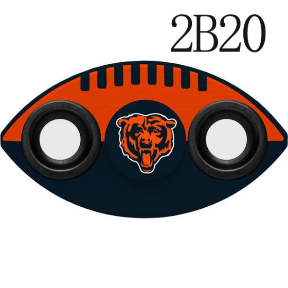 NFL Chicago Bears Two-Way Fidget Spinner-2B20