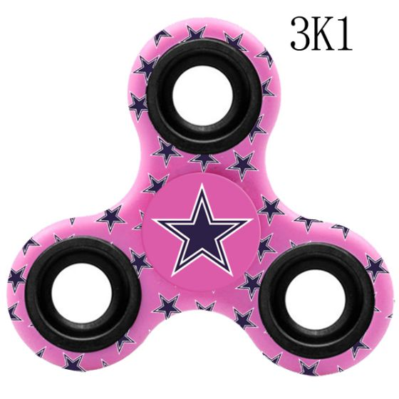 NFL Dallas Cowboys LogoThree-Way Fidget Spinner- 3K1