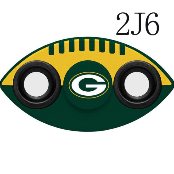 NFL Green Bay Packers Two-Way Fidget Spinner-2J6