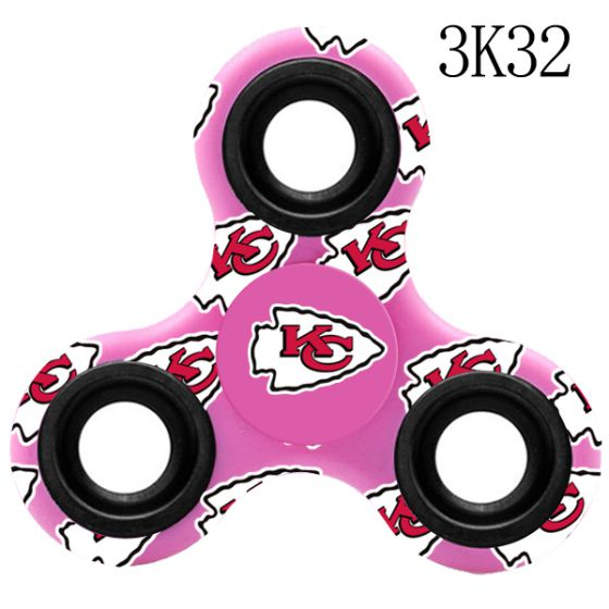 NFL KANSAS CITY CHIEFS Logo Three-Way Fidget Spinner -3K32