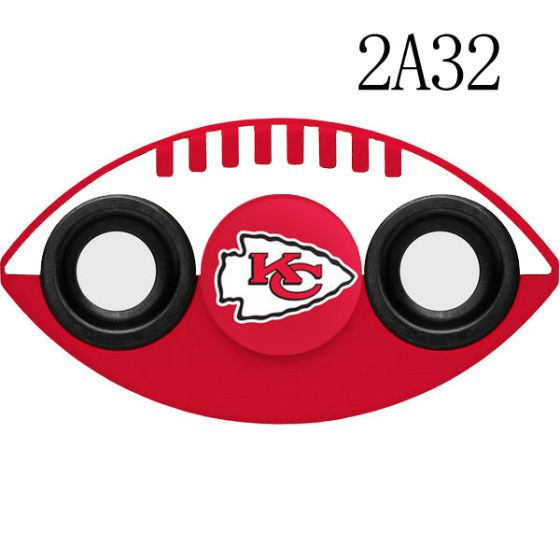 NFL KANSAS CITY CHIEFS Two-Way Fidget Spinner-2A32