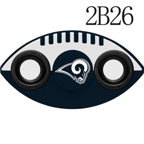NFL LOS ANGELES RAMS Two-Way Fidget Spinner-2B26
