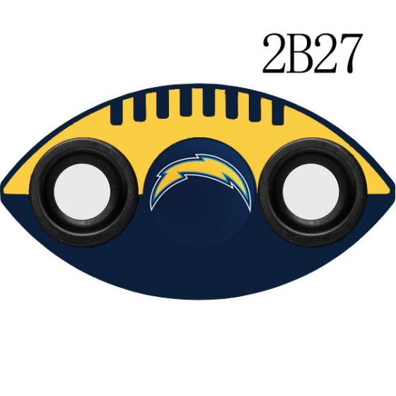 NFL Los Angeles Chargers Two-Way Fidget Spinner-2B27