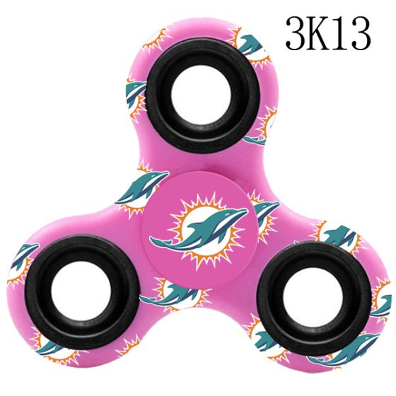 NFL MIAMI DOLPHINS LogoThree-Way Fidget Spinner-3K13