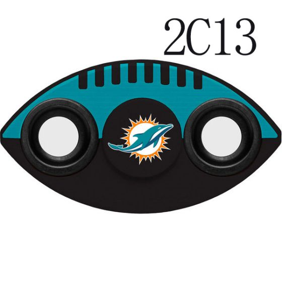 NFL MIAMI DOLPHINS Two-Way Fidget Spinner- 2C13