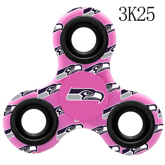 NFL NFL Seattle Seahawks Logo Three-Way Fidget Spinner-3K25