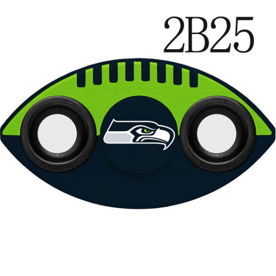 NFL NFL Seattle Seahawks Two-Way Fidget Spinner-2B25