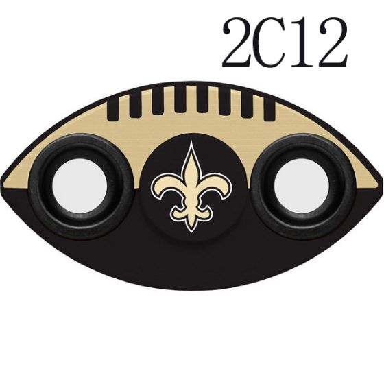 NFL New Orleans Saints Two-Way Fidget Spinner-2C12