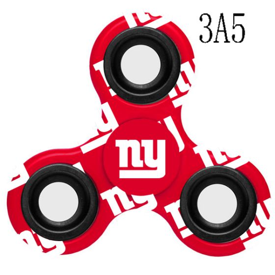 NFL New York Giants LogoThree-Way Fidget Spinner-3A5