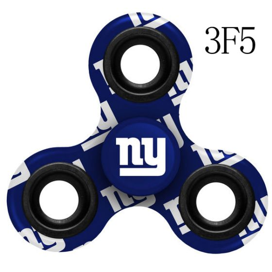 NFL New York Giants LogoThree-Way Fidget Spinner-3F5