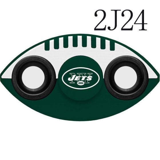 NFL New York Jets Two-Way Fidget Spinner-2J24