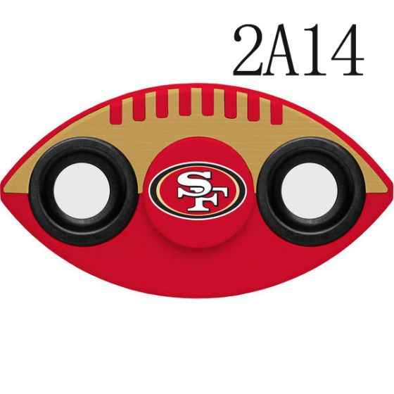 NFL San Francisco 49ers Two-Way Fidget Spinner-2A14