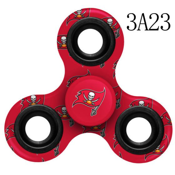 NFL TAMPA BAY BUCCANEERS Logo Three-Way Fidget Spinner- 3 A23