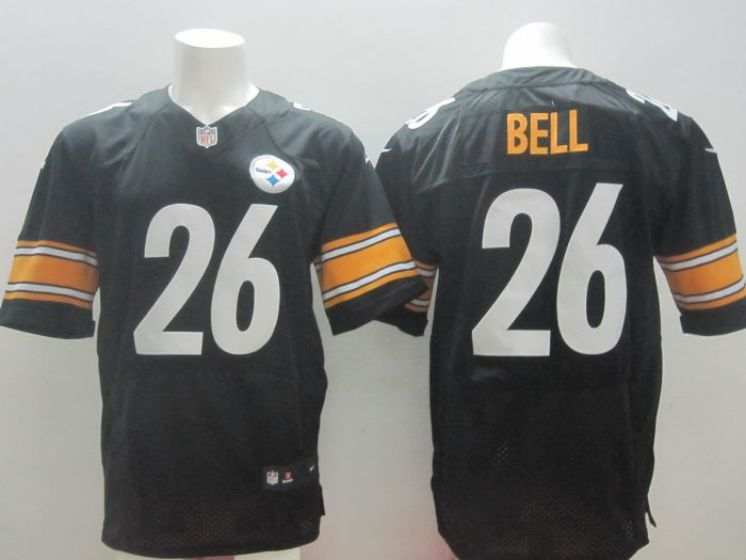 Pittsburgh Steelers 26 Le Veon Bell black nike NFL elite jersey