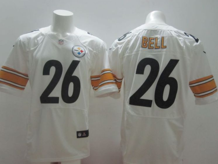 Pittsburgh Steelers 26 Le Veon Bell white nike NFL elite jersey