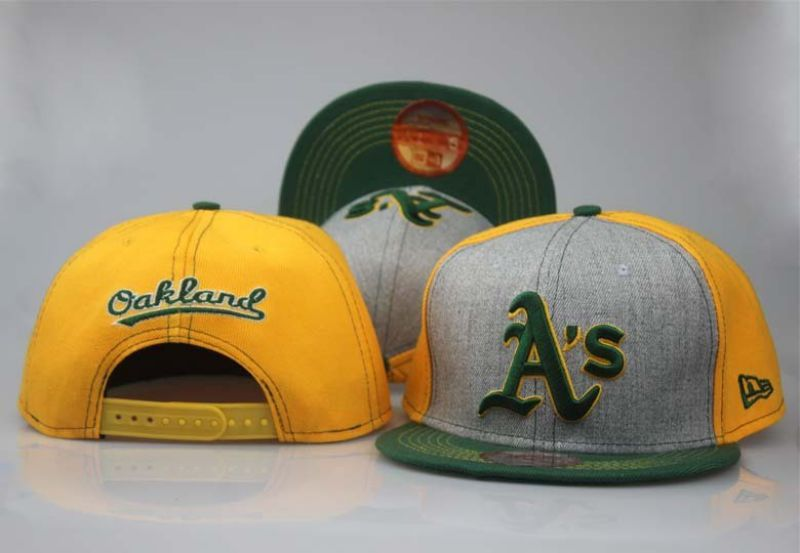 2017 MLB Oakland Athletics hat 0830