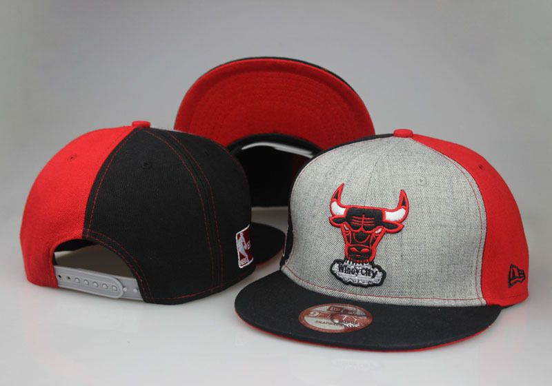 2017 NBA Chicago Bulls Snapback hat 0830