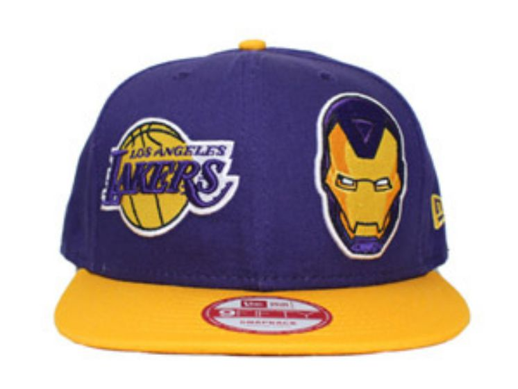 2017 NBA Los Angeles Lakers Snapback hat 0830