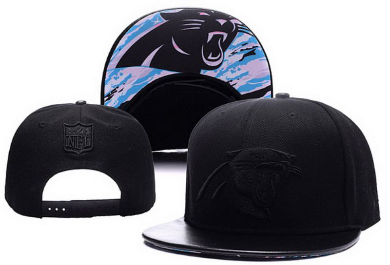 2017 NFL Carolina Panthers Snapback hat xdf 0826