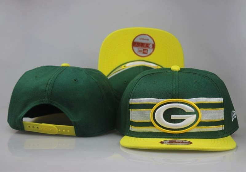 2017 NFL Green Bay Packers Snapback 2 hat 0830