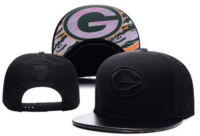 2017 NFL Green Bay Packers Snapback hat xdf 0826