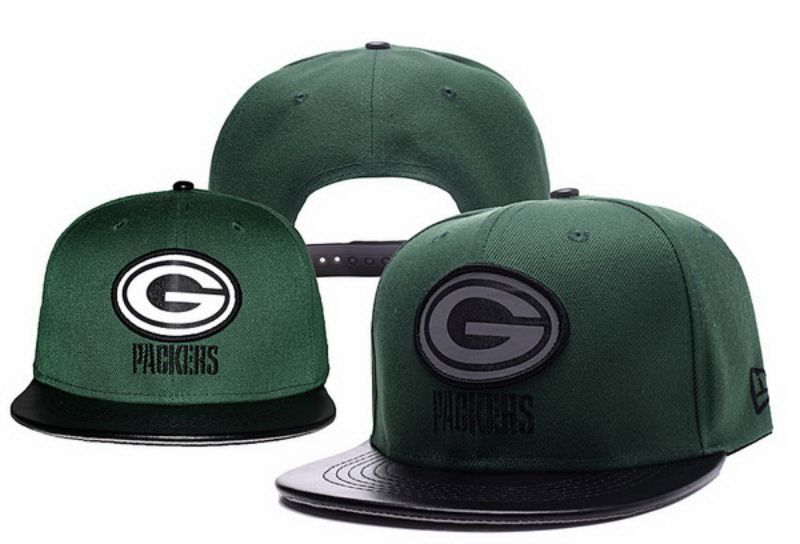 2017 NFL Green Bays Packers Snapback hat xdf 0826