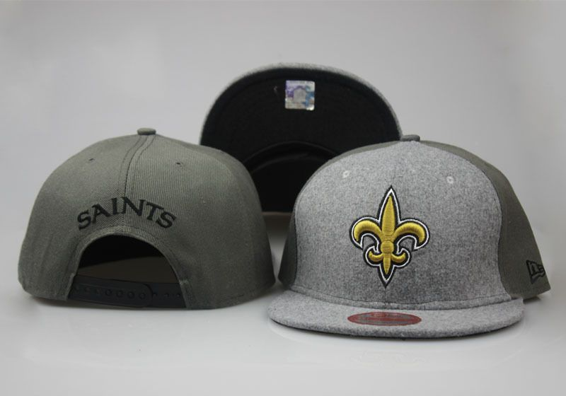 2017 NFL New Orleans Saints Snapback hat 0830