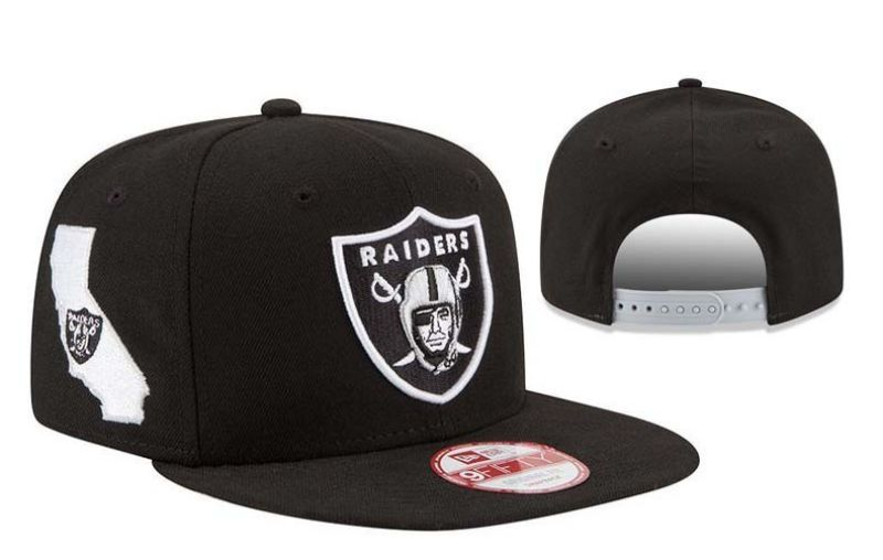 2017 NFL Oakland Raiders Snapback 2 hat 0830
