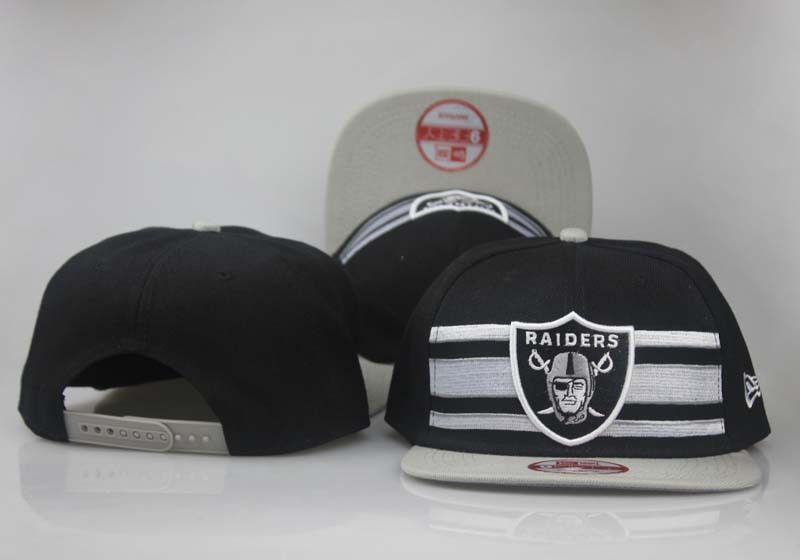 2017 NFL Oakland Raiders Snapback 4 hat 0830