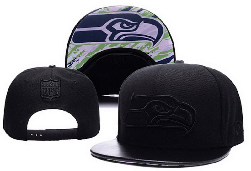 2017 NFL Seattle Seahawks Snapback hat xdf 0826