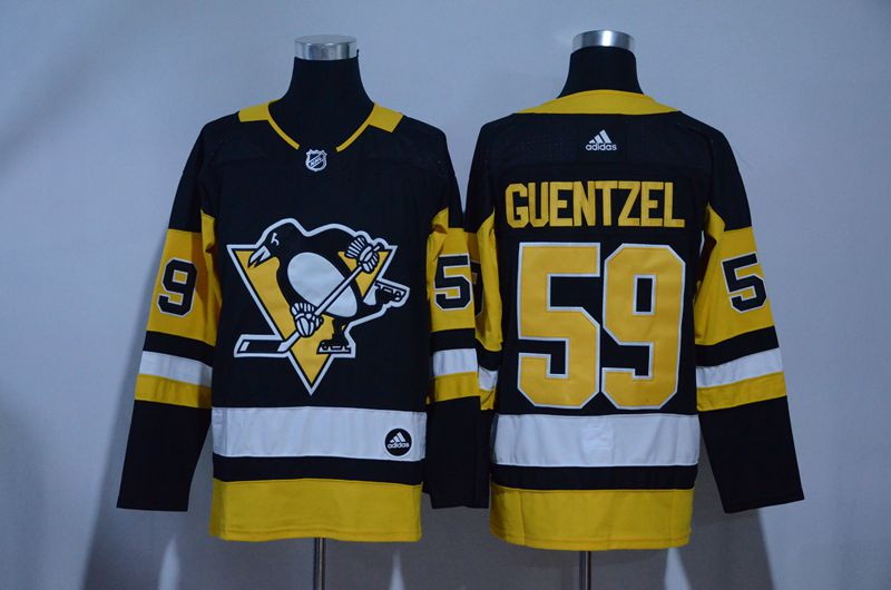 MEN 2017 NHL Pittsburgh Penguins 59 Guentzel black Adidas Stitched Jersey