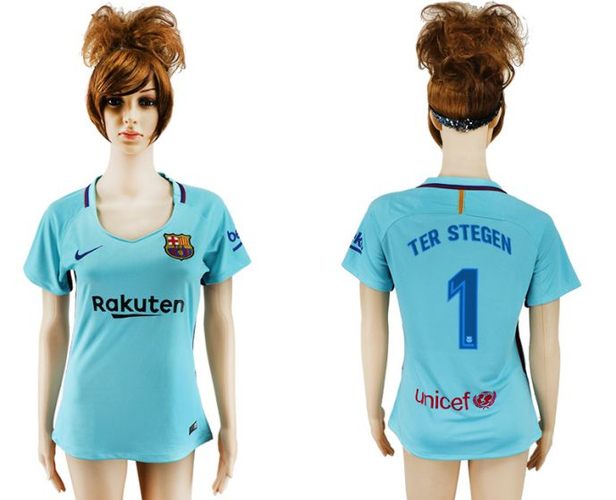 2017-2018 Club Barcelona absent aaa verion women 1 maillot de football