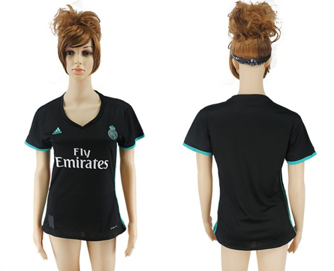 2017-2018 Club Real Madrid away aaa verion women(1) soccer jersey