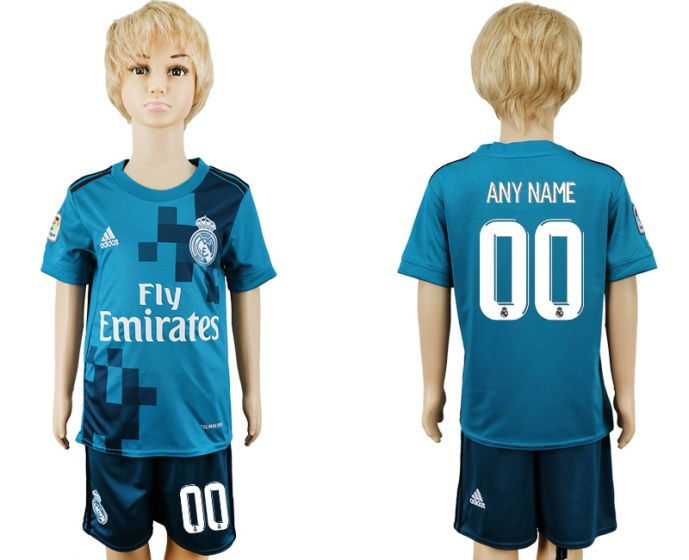 2017-2018 club youth Real Madrid away customized soccer jersey