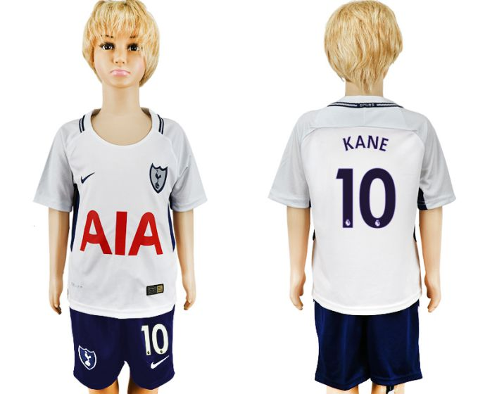 2017-2018 club youth Tottenham Hotspur home 10 soccer jersey