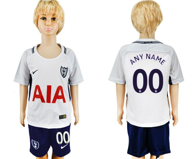 2017-2018 club youth Tottenham Hotspur home customized soccer jersey