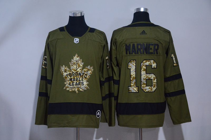 Men 2017 NHL Men Toronto Maple Leafs 16 Marner green Adidas Jerseys