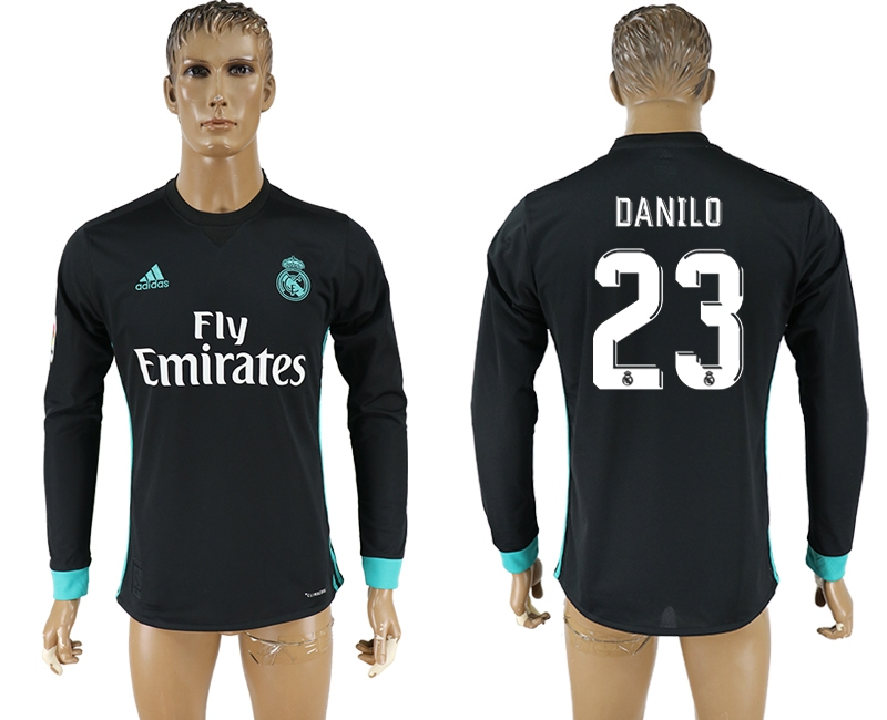 Hommes 2017-2018 Club Real Madrid à manches longues aaa version 23 maillot de football