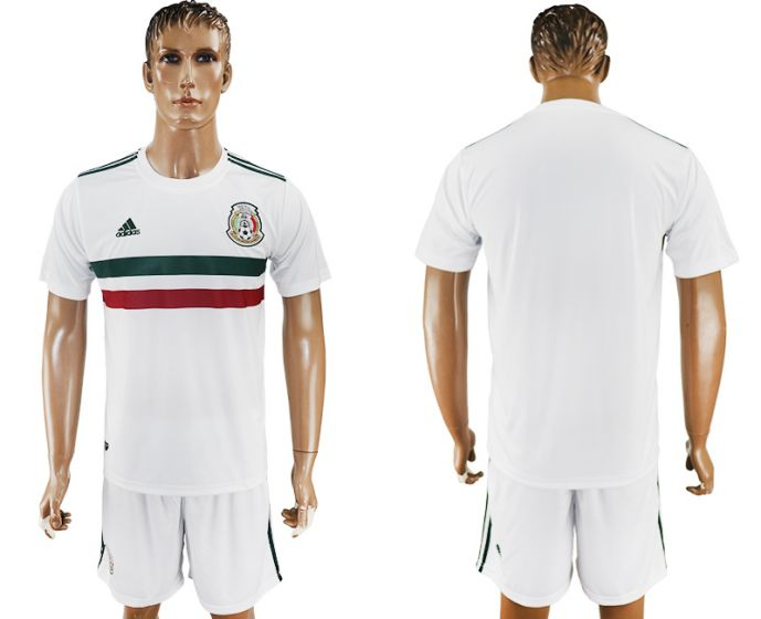 Men 2017-2018 National Mexico away soccer jersey