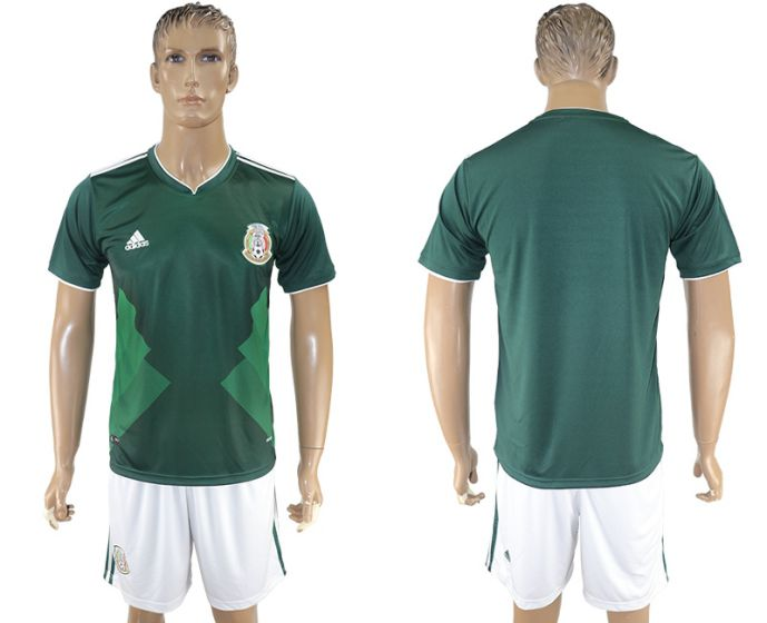 Men 2017-2018 National Mexico home soccer jersey