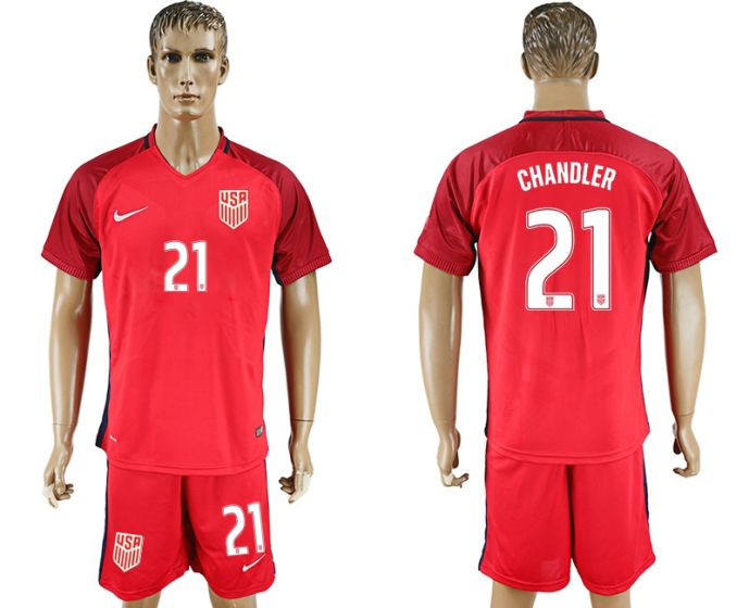 Men 2017-2018 National USA away 21 soccer jersey