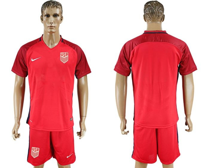 Men 2017-2018 National USA away soccer jersey