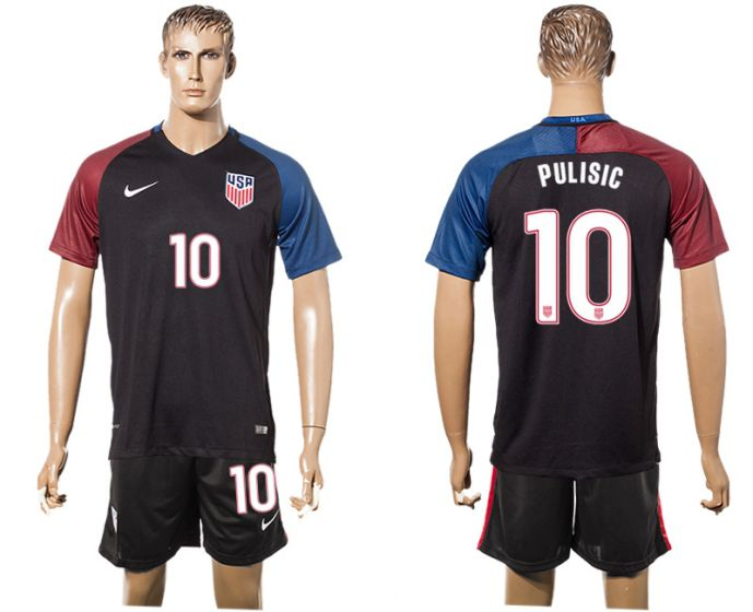 Men 2017-2018 National United States away 10 soccer jersey