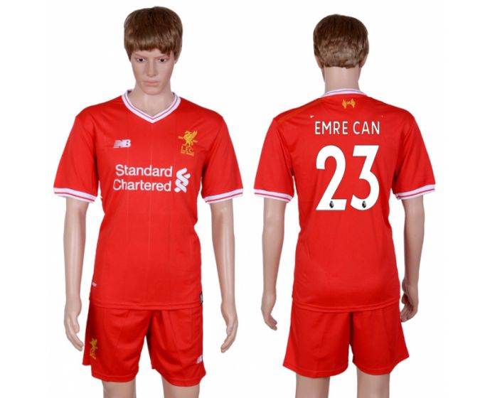Men 2017-2018 club Liverpool home 23 red soccer jersey