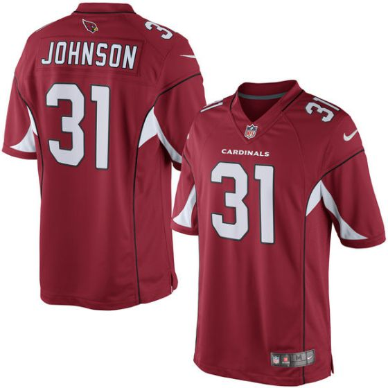 Men Arizona Cardinals 31 David Johnson Limited Nike NFL Jersey
