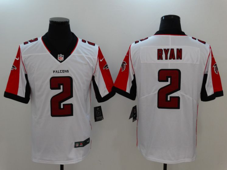 Men Atlanta Falcons 2 Ryan White Nike Vapor Untouchable Limited NFL Jerseys