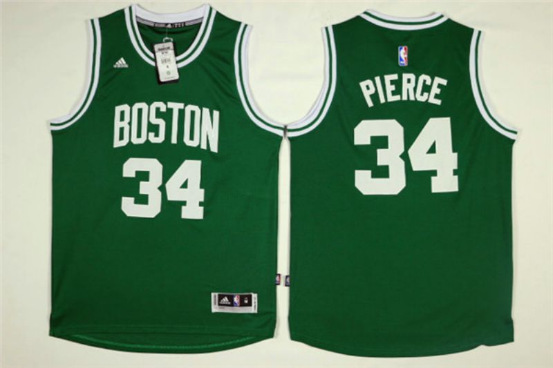 Men Boston Celtics 34 Pierce Green NBA Jerseys