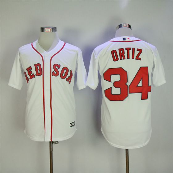 Men Boston Red Sox 34 David Ortiz Game MLB Jerseys