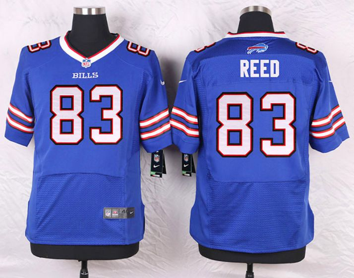 Men Buffalo Bills 83 Andre Reed Blue Elite Nike NFL Jerseys